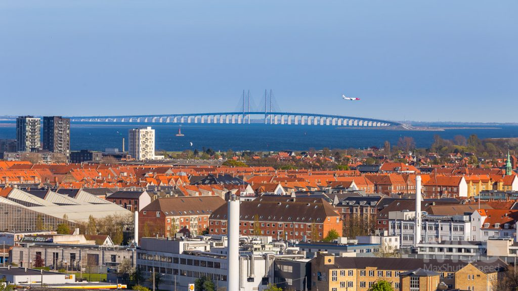 Øresund - longest cable-stayed bridge of Europe