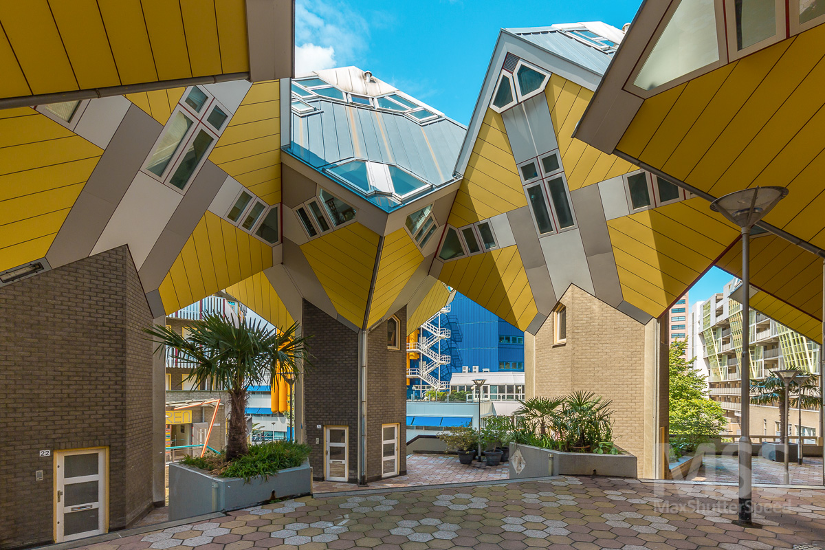 Cube Houses Kubuswoningen By Piet Blom